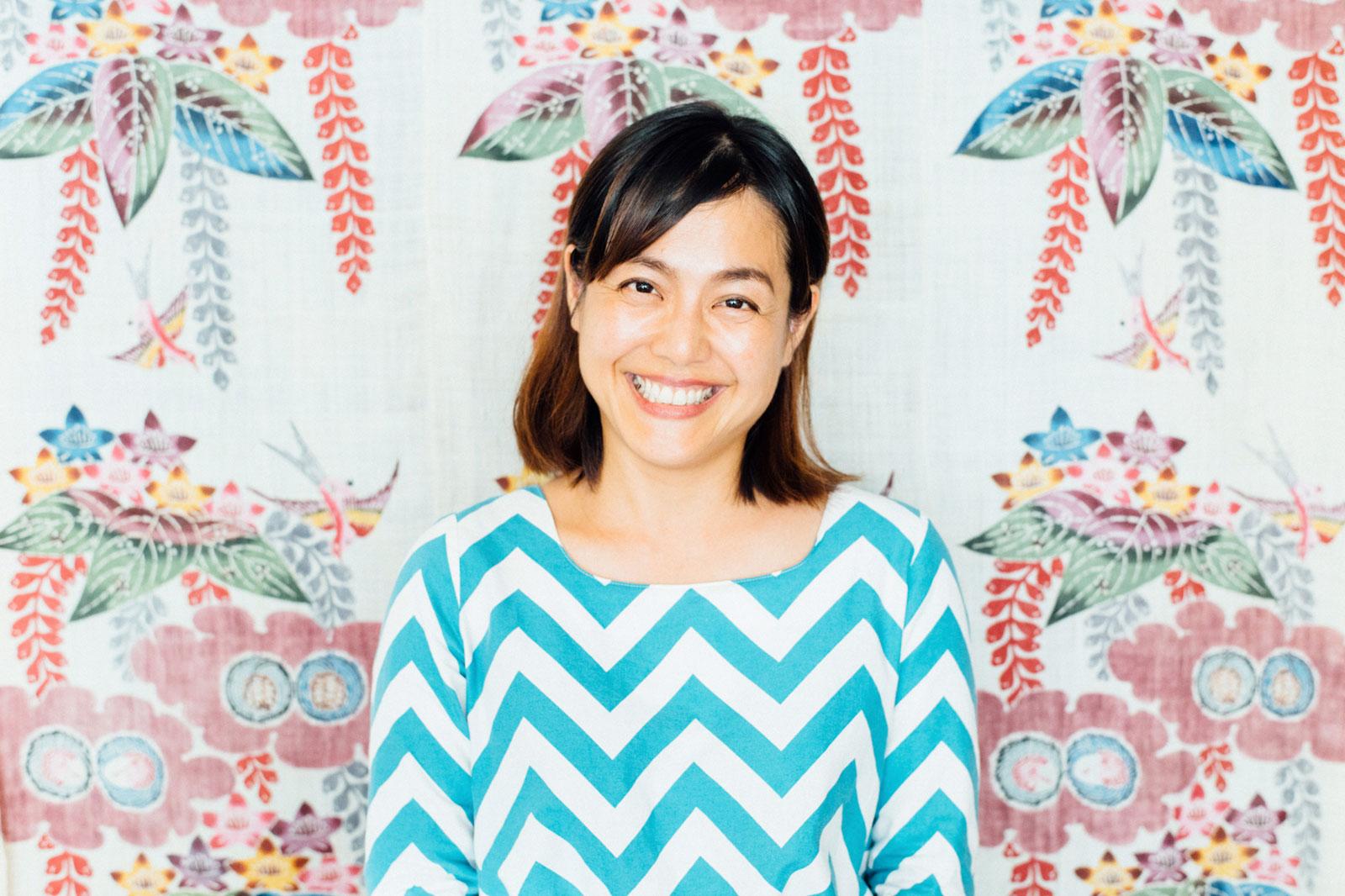 謝花久乃 さん (「謝花きっぱん店」代表  )