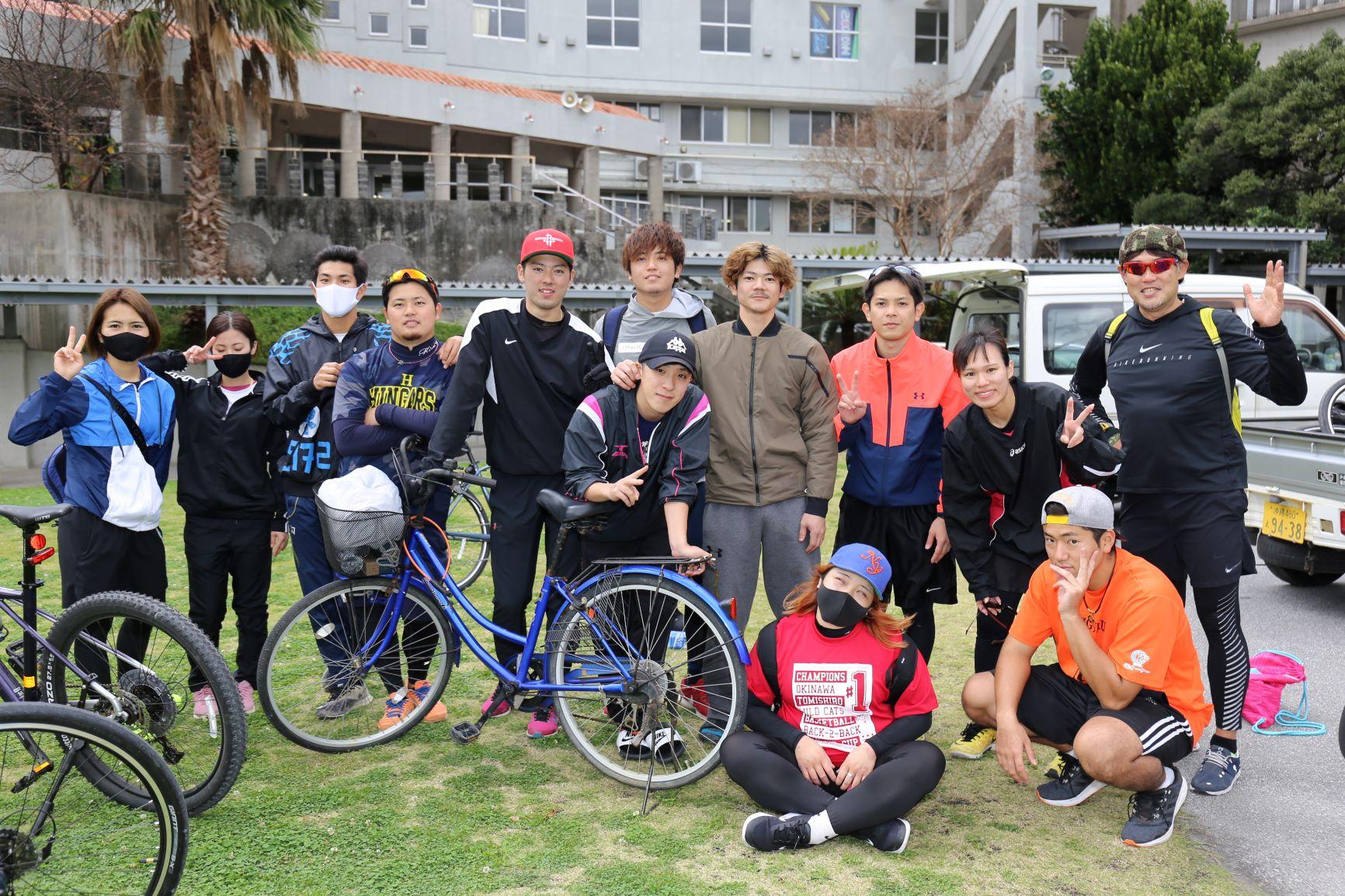 宮本ゼミ!今年は南部一周40キロに自転車でチャレンジ!