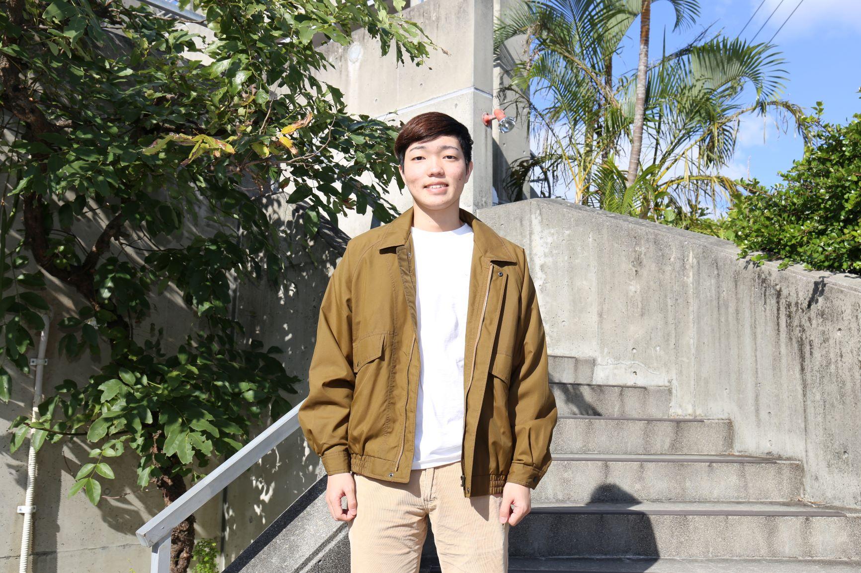 『オキダイで20歳に!④』国際コミュニケーション学科2年笠原淳さん