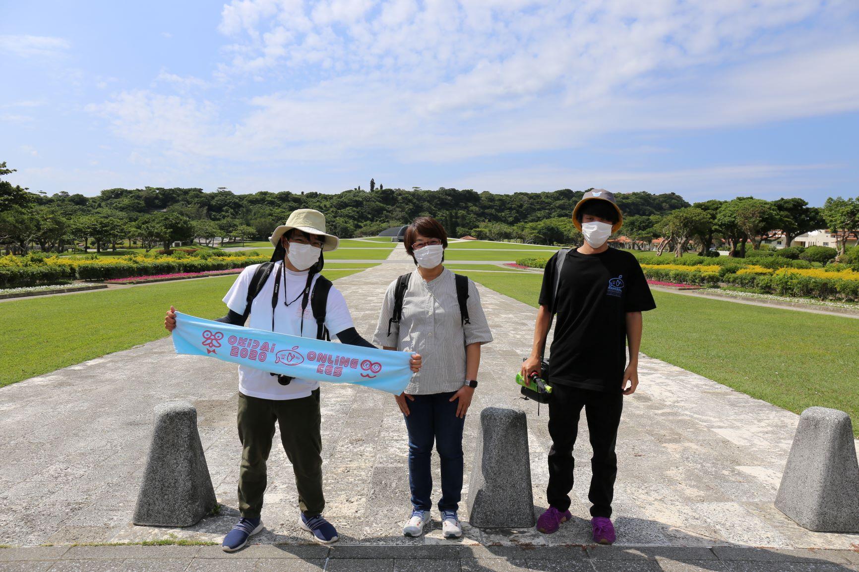 『2021沖大祭PR企画⓸』沖縄本島北~南へ!撮影隊頑張っています!